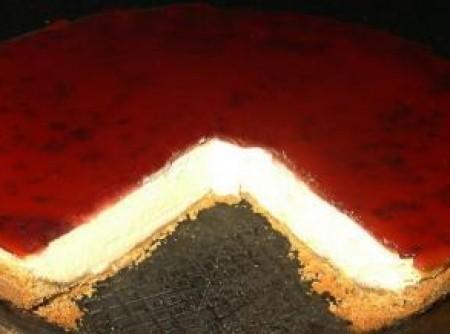 Cheese cake de amora