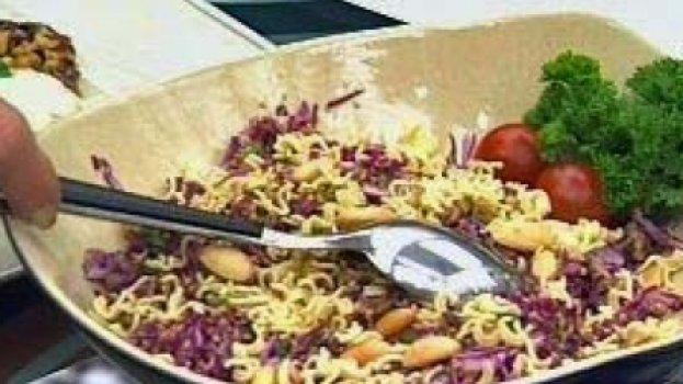 Salada Com Tempero Exótico
