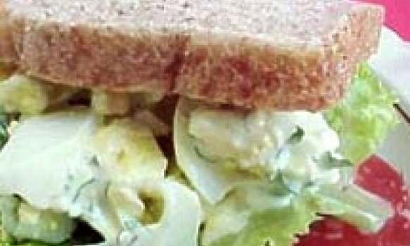 Sanduiche de Salada de Ovos