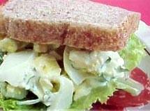 Sanduiche de Salada de Ovos | Luiz Lapetina