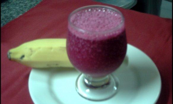 Suco de Beterraba com Banana