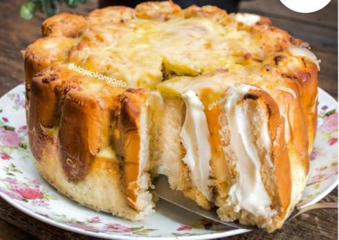 Torta de Bisnaguinha | CyberCook
