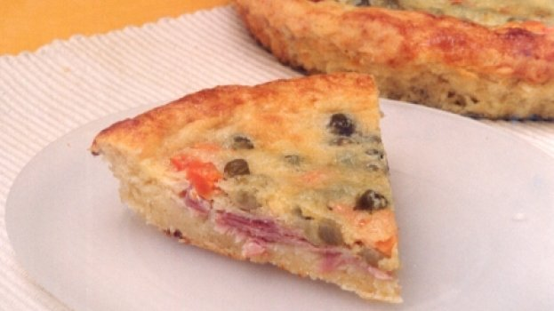 Torta de Legumes com Presunto