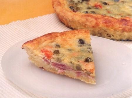 Torta de Legumes com Presunto | CyberCook