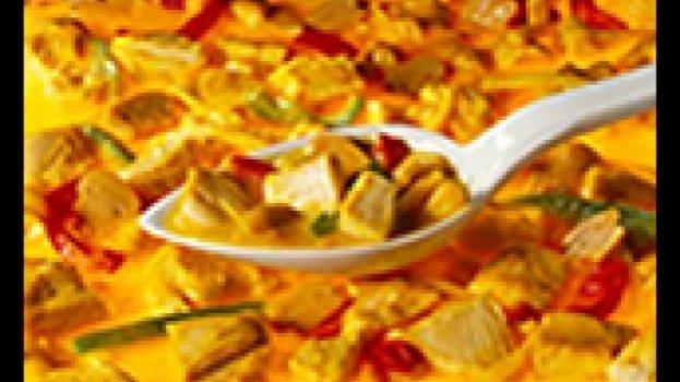 Frango ao Molho de Iogurte e Curry