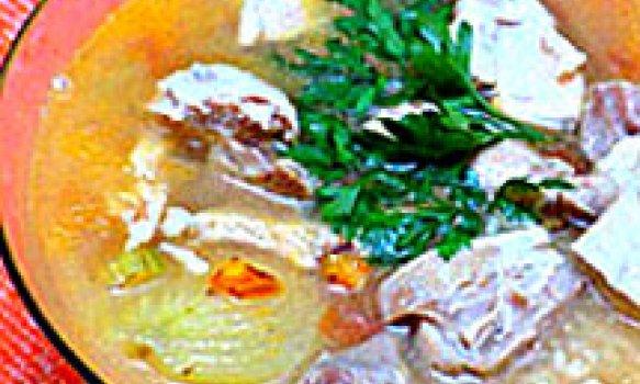 Canja de galinha dourada
