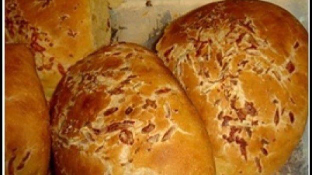 Pão de taro (pão de inhame)