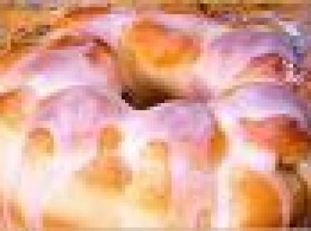 Rosca de Mandioca com Recheio de Coco