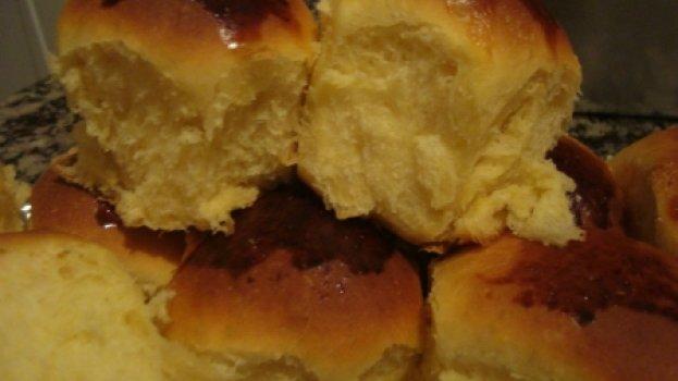 Pão de Milho e Leite Condensado