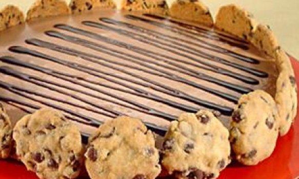 Mousse de Chocolate e Cookies