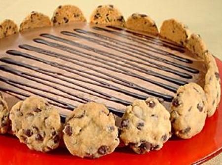 Mousse de Chocolate e Cookies   Mozart