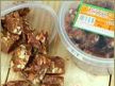 Torrone de mel com amendoim