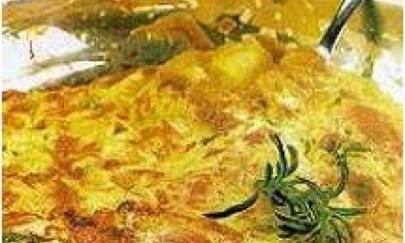 Fritada de batata com orégano