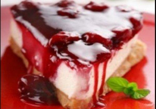 Cheesecake de Framboesa do lu