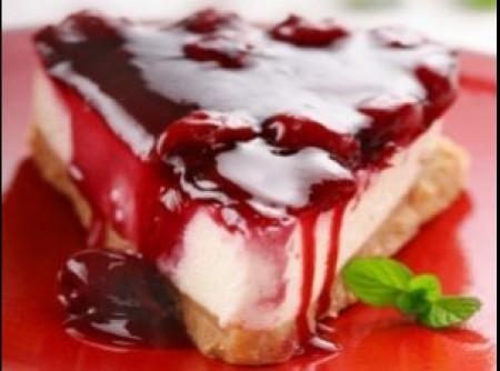 Cheesecake de Framboesa do lu   Cintia da Silva Gonçalves