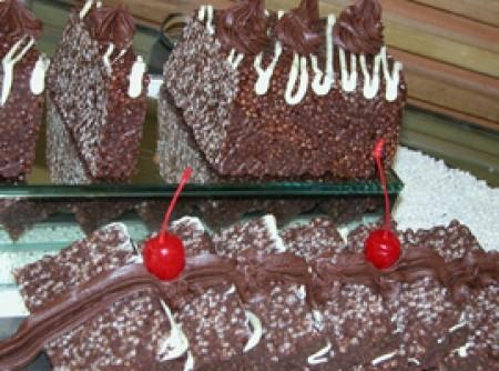 Sobremesa Crocante de Chocolate e Marshmalow