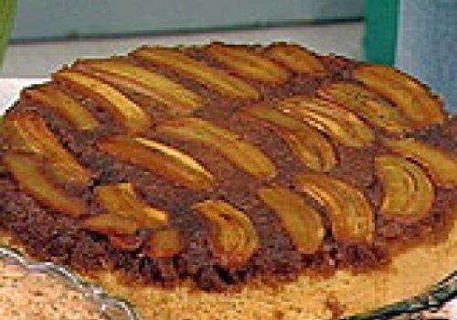 Torta de Banana Preguiçosa