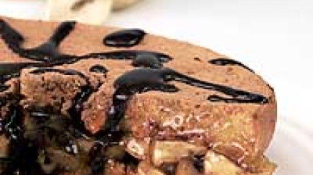 Pão-de-ló de Cenoura com Maçãs