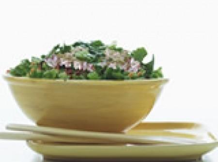 Salada colorida ao molho de laranja - LIGHT