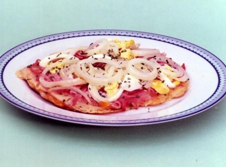 Pizza Aberta Frita