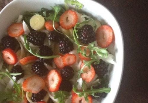 Salada de Palmito com Rúcula