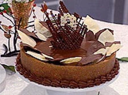 Torta Trufada de Banana Carameladas