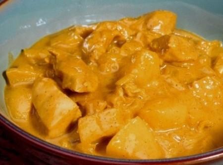 Frango ao curry