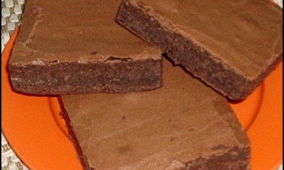 Brownie Simples de Chocolate