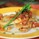 Lombo de Porco Grelhado com Vinagrete de Tomate