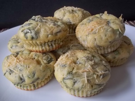Muffins de espinafre   Maria Ferreira Nascimento Vechi