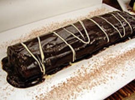 Rocambole de chocolate (sem farinha)