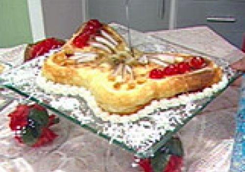 Torta de Côco e Iorgute