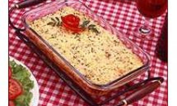 lasanha de arroz