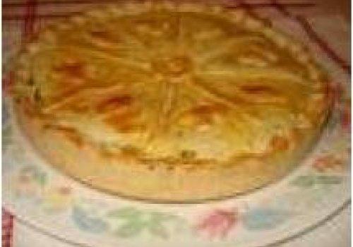 Torta cremosa de frango by k&m
