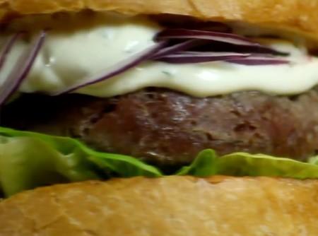 Hamburger Caseiro de Kibe Cru | CyberCook