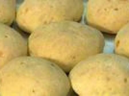 Pão de queijo feito com soja