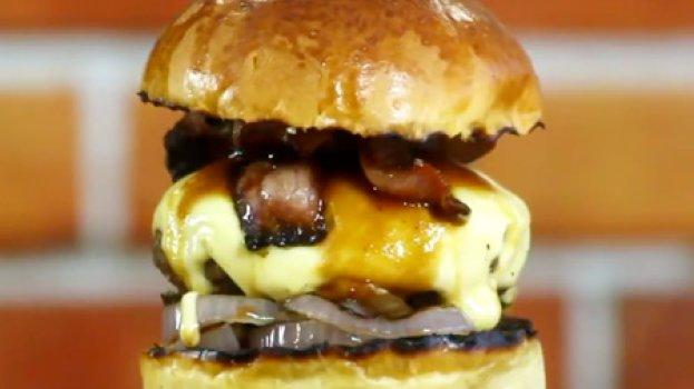 Bacon Barbecue Burger