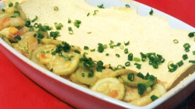Omelete com Abobrinha
