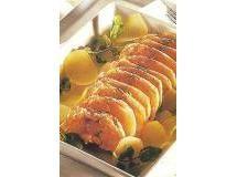 Rosbife de salmão com batata e agrião | Luiz Lapetina