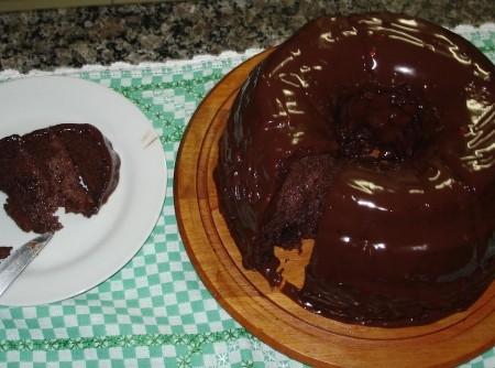 Bolo de Iogurte de Chocolate