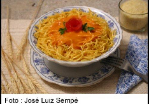 Espaguete ala Crème Rosé