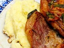 Picanha com sálvia e bacon