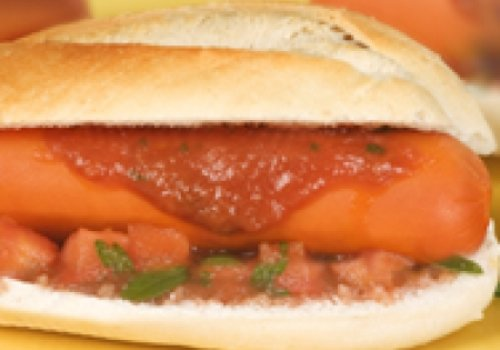 Hot dog de Santo Antonio