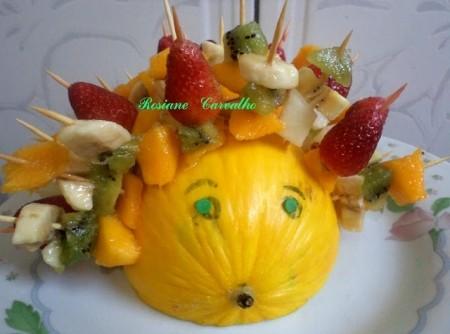 Salada de Frutas Porco-espinho