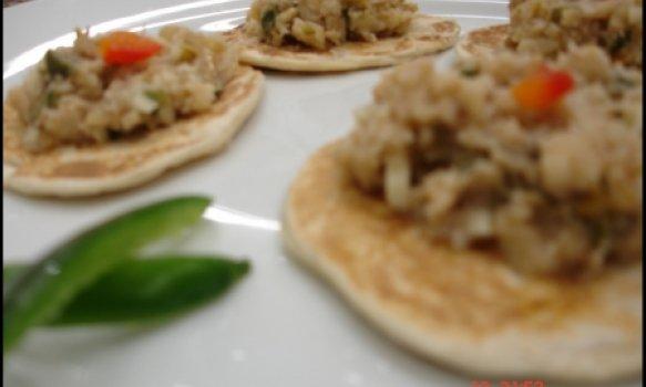 Tacos con Salpicón de Huachinango