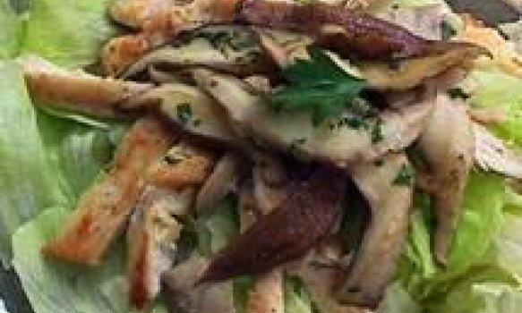 Salada Quente de Frango