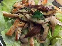 Salada Quente de Frango | Luiz Lapetina
