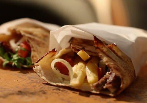 Shawarma dos Vingadores