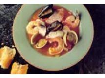 SOUPE DE POISSONS Sopa de frutos do mar