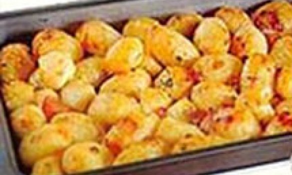 Batatas Coradas